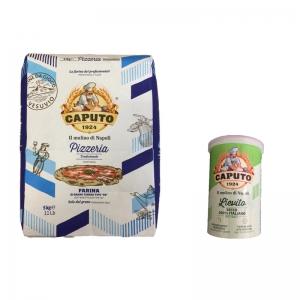 Farine Pizzeria Caputo Kg. 5 + 100 Gr de levure sèche - Mulino Caputo