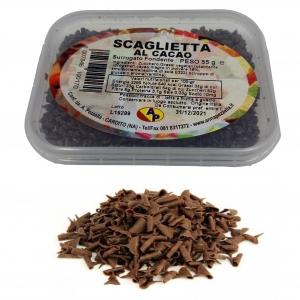 Dunkle Schokoladenflocken - Pezzella