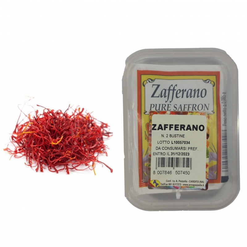 Saffron in sachets - Pezzella