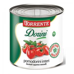 Whole Dorini little tomatoes 3Kg - La Torrente