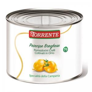 Principe Borghese tomates pequeños amarillos 2500g - La Torrente