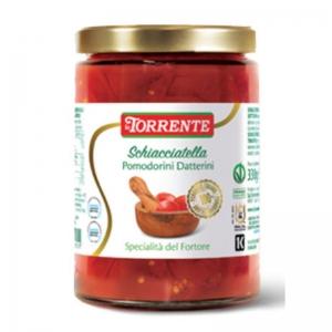 Schiacciatella Pomodorini datterini  da 530g - La Torrente