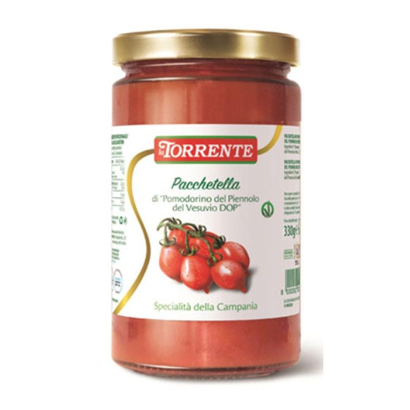 """Pacchetella di """"Pomodorino del Piennolo del Vesuvio DOP""""- La Torrente"""