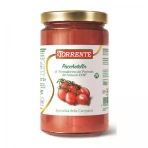 """Pacchetella of """"Pomodorino del Piennolo del Vesuvio DOP"""" - La Torrente"""