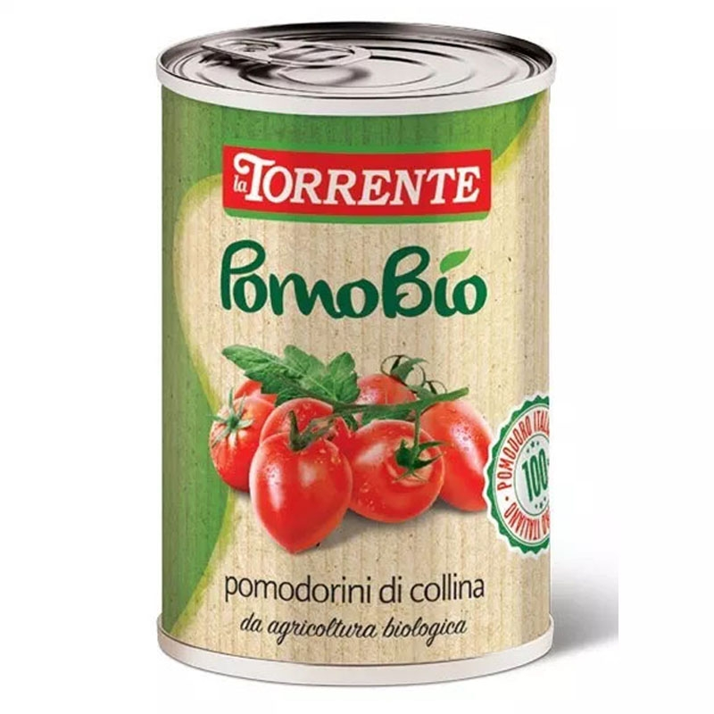 Pomodorini da agricoltura biologica  PomoBio 500g  - La Torrente