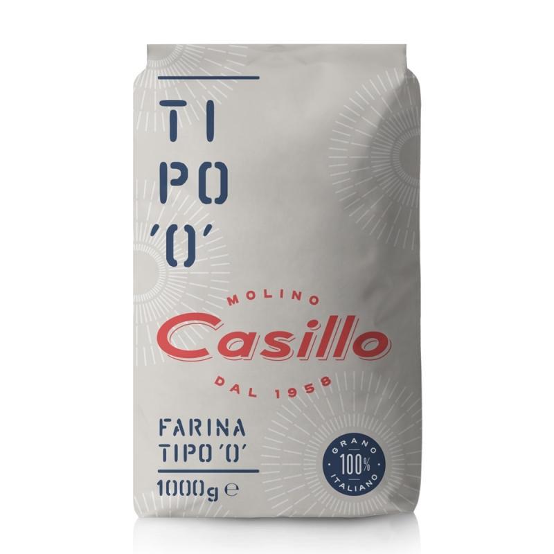 """Farina Selezione Casillo tipo """"0"""" 1kg"""