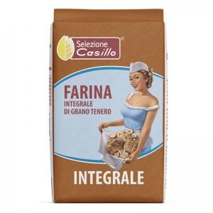 Harina De Trigo Integral 500g - Selezione Casillo