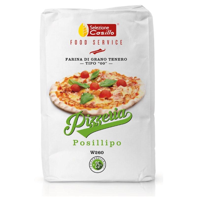 Harina Pizzeria - Posillipo 25 kg - Selezione Casillo