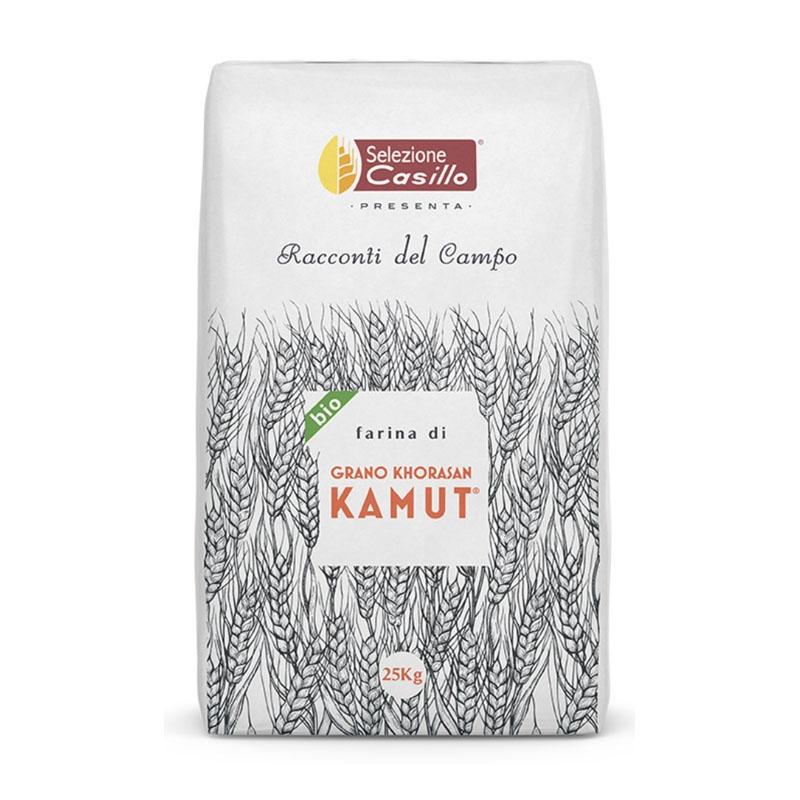 Harina de trigo Khorasan KAMUT Racconti del Campo 25Kg - Selezione Casillo