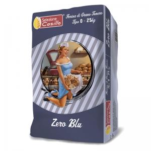 Farina di grano tenero tipo 0 ZERO BLU 25Kg - Selezione Casillo