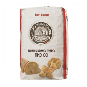"Flour Type 00 ""Far Pane SSP""  25 Kg- Molino DALLAGIOVANNA"