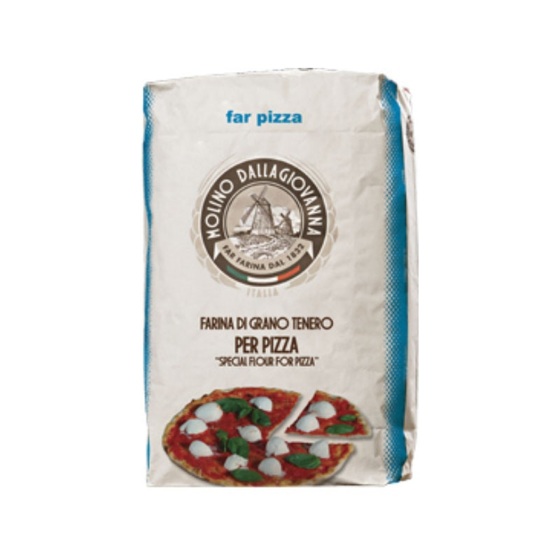 "Harina ""FAR Pizza"" AZUL Tipo 00 25 kg - Molino DALLAGIOVANNA"