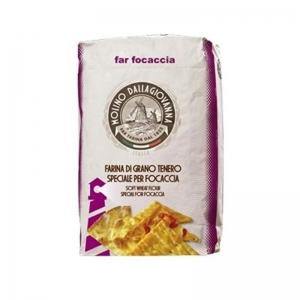 "Flour "" Far Focaccia  - La Forte "" Type 00  25 KG - Molino DALLAGIOVANNA"