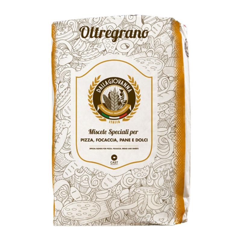 """Flour """"Oltregrano - La Leggera""""  25 Kg - Molino DALLAGIOVANNA"""
