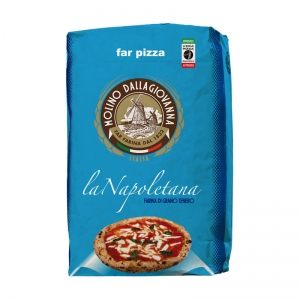 "Harina ""Far Pizza - LaNapoletana"" 25 Kg - Molino DALLAGIOVANNA"