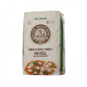 "Farina "" FarPizza - Verde  ""  25 Kg  - Molino DALLAGIOVANNA"