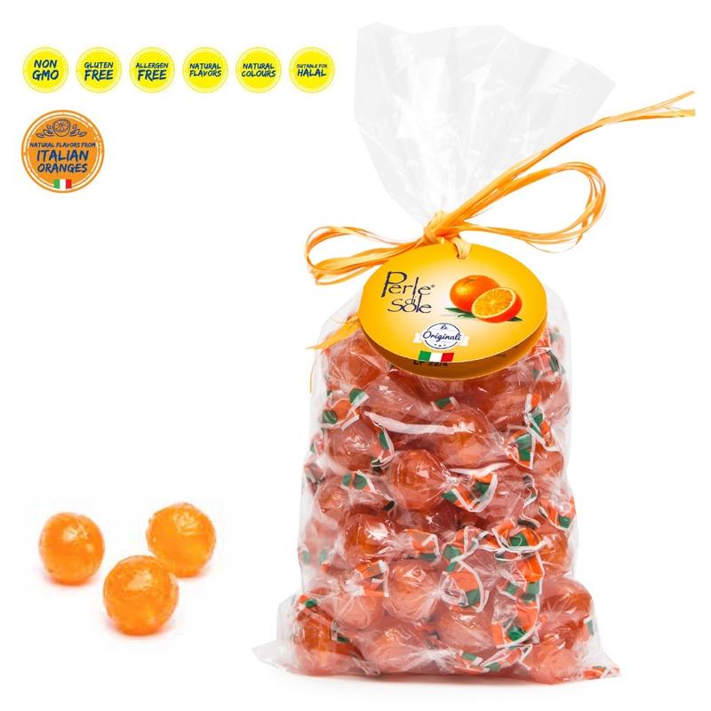 Caramelle al gusto di Arancia 500 Gr. - Perle di Sole