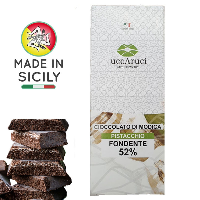 Modica Chocolat Aux Pistaches 100g - UCCARUCI
