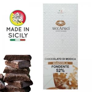 Schokolade von Modica Mandel 100g - UCCARUCI
