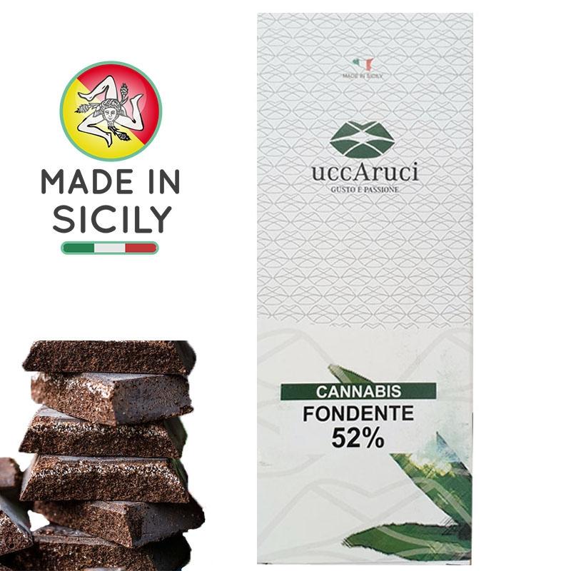 Modica Cannabis Chocolate 100g - UCCARUCI