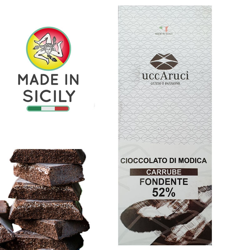 Chocolate de Modica Carrube 100g - UCCARUCI