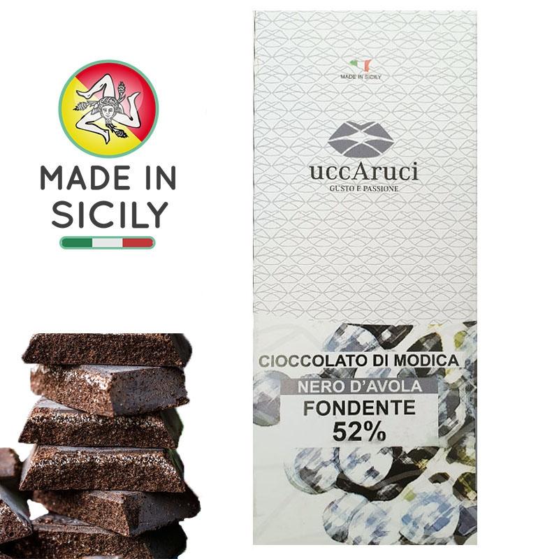 Modica Nero d'Avola Chocolate 100g - UCCARUCI