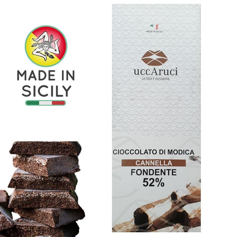 Chocolat de Modica Cannella 100g - UCCARUCI