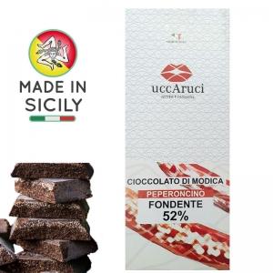 Cioccolato di Modica - Peperoncino 100g - UCCARUCI
