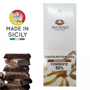 Chocolate of Modica Zenzero 100g - UCCARUCI