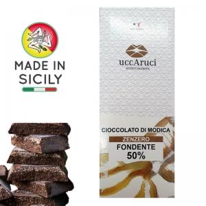Chocolate de Modica Zenzero 100g - UCCARUCI