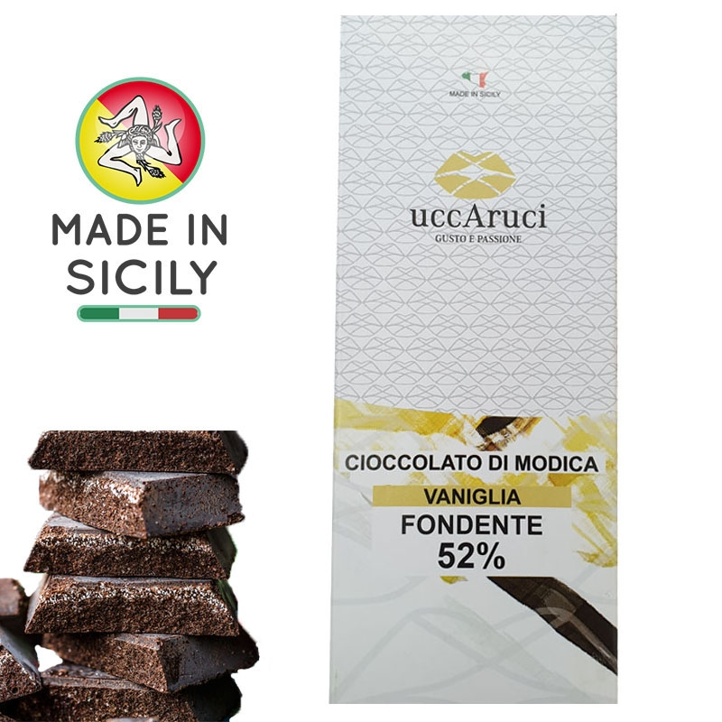 Modica chocolat -Vaniglia 100g - UCCARUCI