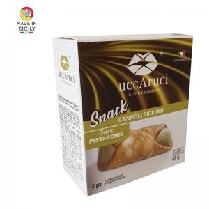 Mini Cannoli Snack De Pistacho - Uccaruci