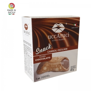 Mini Cannoli Cioccolato Snack - Uccaruci