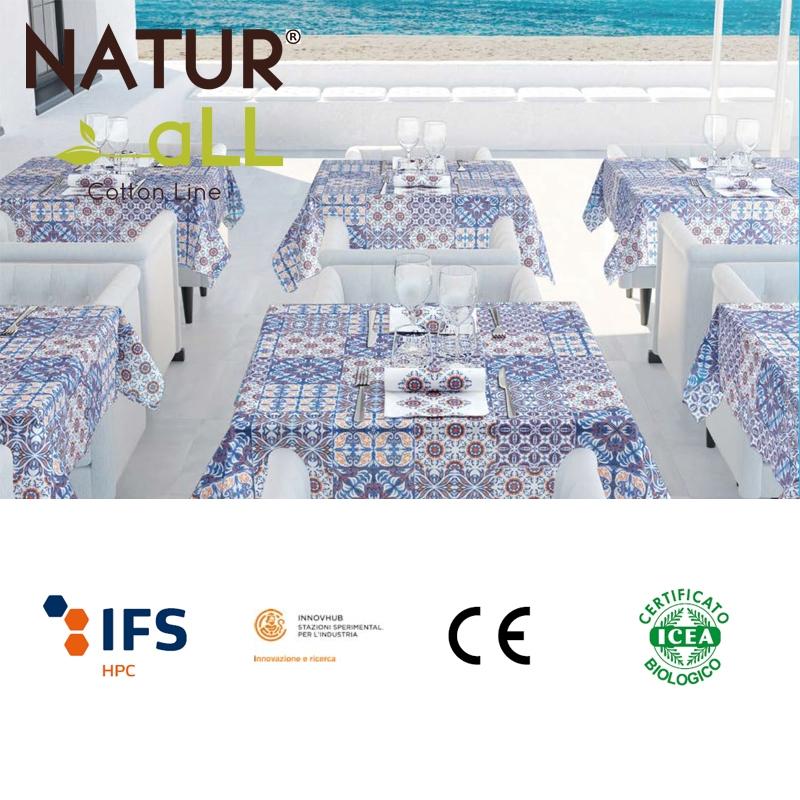 Set 100 couverts de table + serviettes de table - Modèle d'Istanbul
