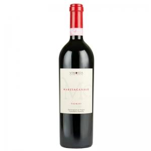 Marziacanale Taurasi DOCG vino tinto - Vinosia