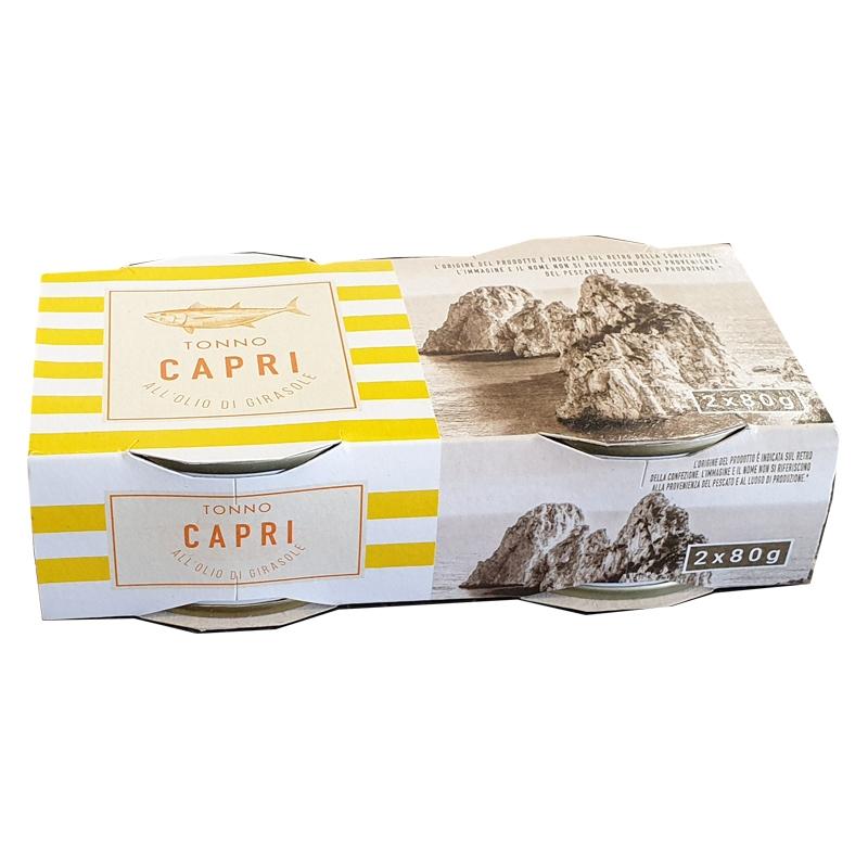 Atún En Aceite De Girasol 2X80g - Capri