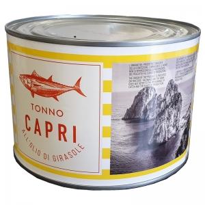 Tonno in olio di girasole  1730g - Capri