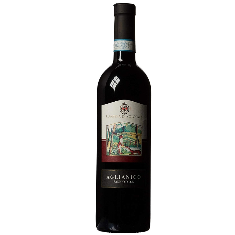 Red wine Aglianico D.O.P - Cantina di Solopaca