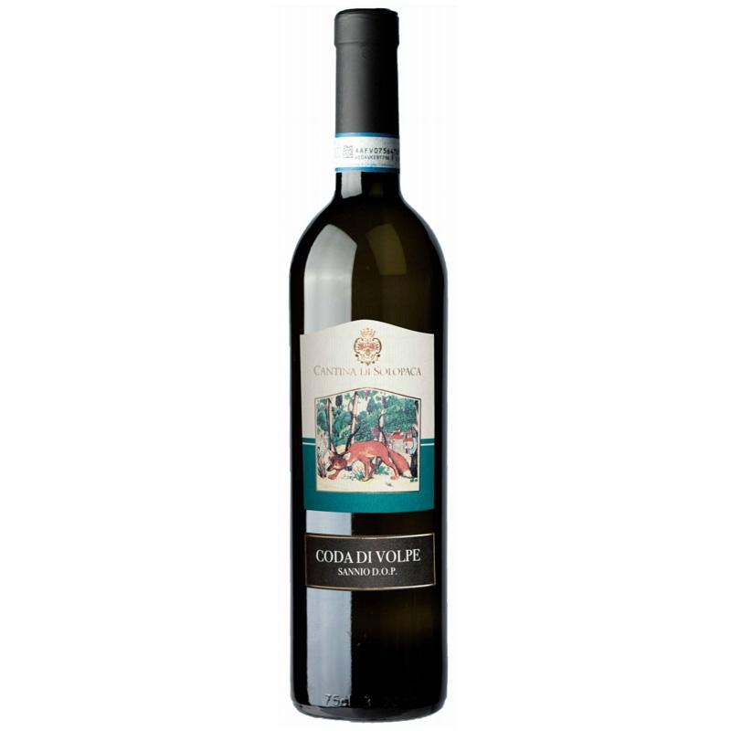 Vino Coda di Volpe Sannio  D.O.P. bianco -Cantina di Solopaca