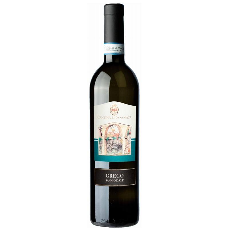 Vino blanco Greco Sannio D.O.P. - Cantine di Solopaca