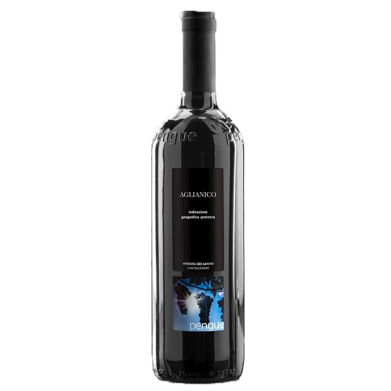 Red wine Aglianico Beneventano IGP PENGUE 1 Lt  - Vinicola del Sannio