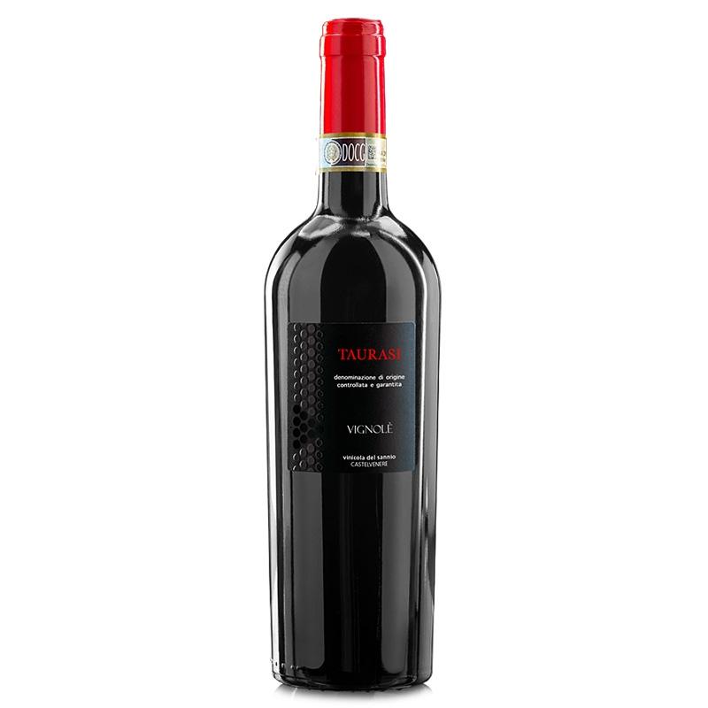 Vino tinto Taurisi D.O.C.G. VIGNOLÈ - Vinicola del Sannio