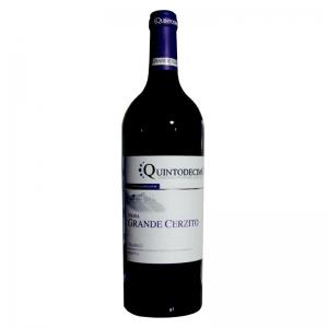 Vin rouge Taurasi riserva Vigna Grande Cerzito DOCG - Quintodecimo