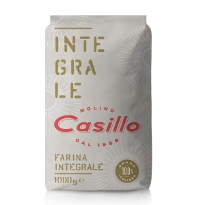 Whole wheat flour 1kg -Selezione Casillo