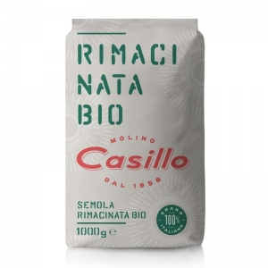 Organic Remilled Durum Wheat semolina Semolina 1kg - Selezione Casillo