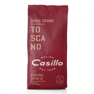 """FARINE DE PRIMI TERRE Type """"0"""" 100% Toscano 500g - Selezione Casillo"""