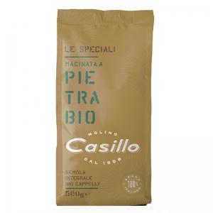 Whole durum wheat semolina organic Senatore Cappelli 500g - Selezione Casillo