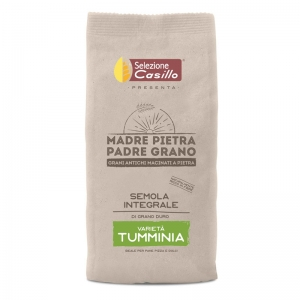 "Semolina integrates Sicilian durum wheat ""Tumminia"" 500g - Selezione Casillo"