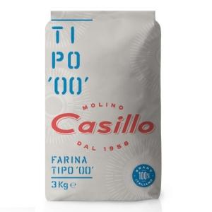 """Flour Type """"00"""" 3kg - Casillo Selection"""
