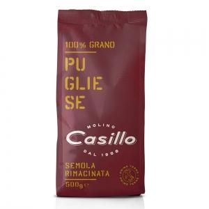 Semoule de blé moulue 100% Pugliese PRIME TERRE 500g - Selezione Casillo